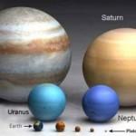 Größenverhältnisse - Größenvergleich im Universum